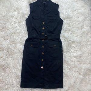 ‼️3/45.00 Bannana Republic Stylish Belted Dress